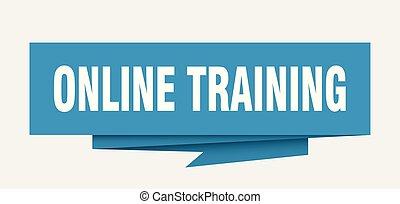 online, képzés