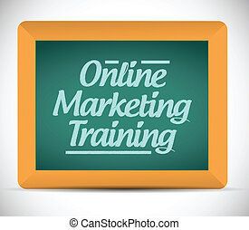 online, marketing, képzés, üzenet
