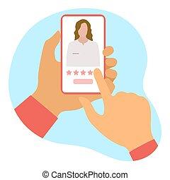 online, szolgáltatás, orvosi, healthcare, értékelés, orvos