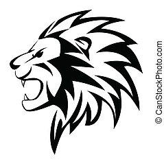 ordít, oroszlán