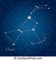 orion, csillagkép