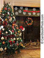 ország, fa, karácsony