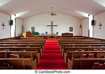 ország templom, belső