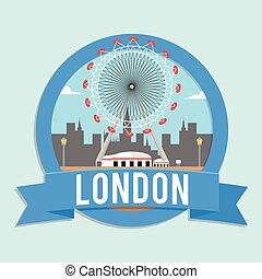 ország, transzparens, london