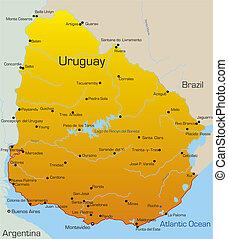 ország, uruguay