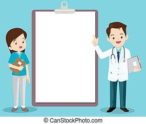 orvos, ápoló, következő, furfangos, álló, értesülés, bizottság