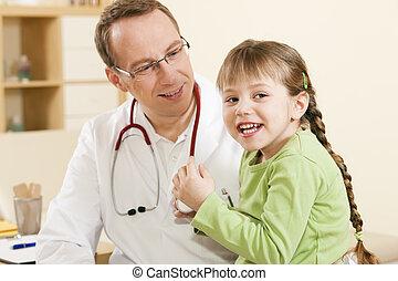 orvos, türelmes, gyermekorvos, gyermek