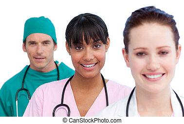 orvosi, bemutatás, befog, multi-ethnic