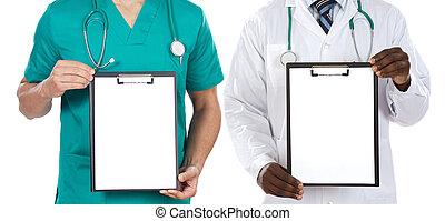 orvosi, csipeszes írótábla, jottányi, befog