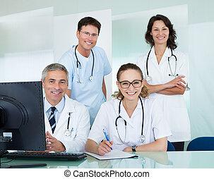 orvosi, feltevő, hivatal sportcsapat