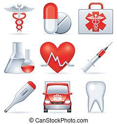 orvosi, icons.