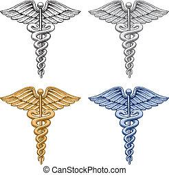 orvosi jelkép, pusztulásnak indult