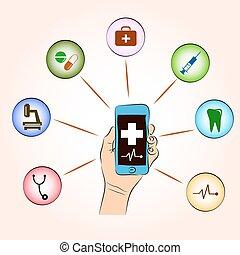 orvosi, konzultáció, szolgáltatás, online