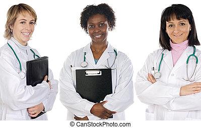 orvosi, multi-ethnic, befog