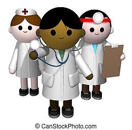 orvosi sportcsapat