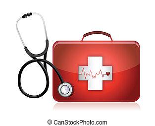 orvosi, sztetoszkóp, felszerelés