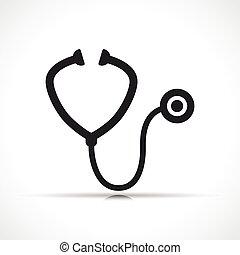 orvosi, vektor, ábra, bánásmód, jelkép, ikon
