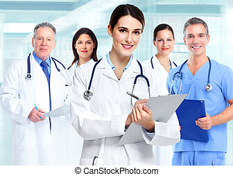 orvosi, woman., orvos