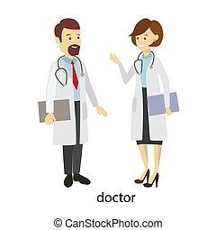 orvosok, párosít., bot