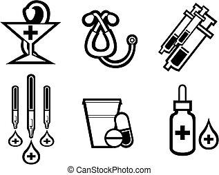 orvosság, jelkép