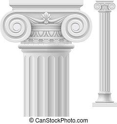 oszlop, római