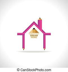 otthon, álmodik