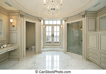 otthon, új, szerkesztés, fiatalúr, fürdőkád