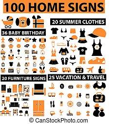 otthon, 100, cégtábla