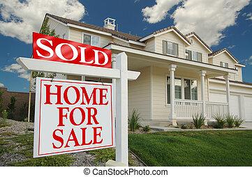 otthon, bér, vásár cégtábla