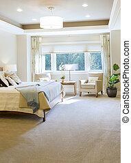 otthon, hálószoba, új