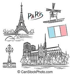 párizs, iránypont, állhatatos
