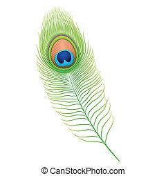 páva madártoll