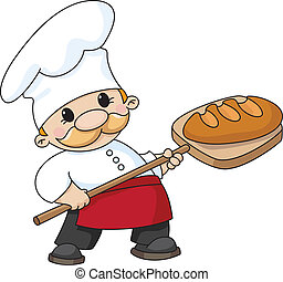 pék, bread