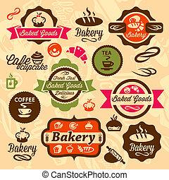 pékség, jelvény, címke