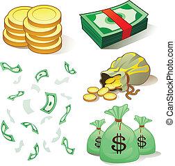 pénz, érmek