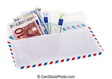 pénz boríték