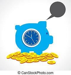 pénz, fogalom, megmentés, idő, gyártás
