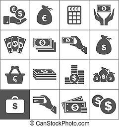 pénz, ikon