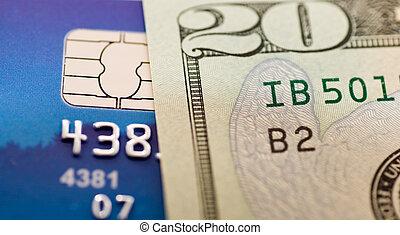 pénz, kártya, hitel