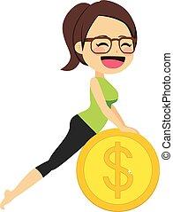 pénz, nő, jóga