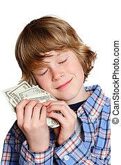pénz, szeret