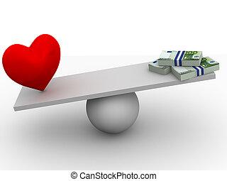 pénz, szeret, vagy