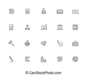 //, pénzel, ügy, &, sorozat, ikonok, 32px, fehér