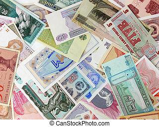 pénznem, különféle