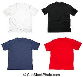 póló, öltözet, tiszta