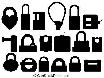 padlocks.