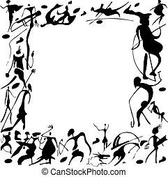 paintings., barlang
