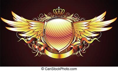pajzs, arany-, címertani