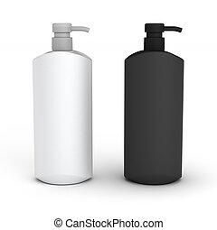 palack, két, tiszta