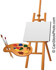 paletta, festőállvány